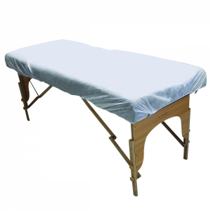 Lot de 5 draps housse jetables pour table de massage