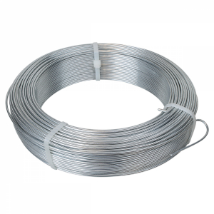 Fil de tension galvanisé - 100 m x 2.2 mm ø - Gris